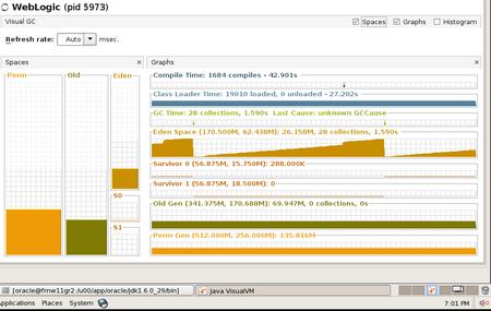 VisualGC Start